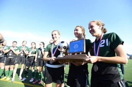 Trinity Girls Soccer Almost Comes Back in State Final