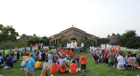 Light of Faith Shines Bright at Catholic Youth Experience