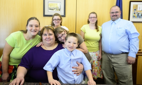 Five Siblings Find 'Forever Family' through Catholic Charities Adoption Services