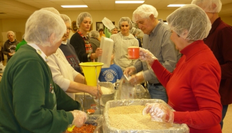 Elysburg Parish Lends a Helping Hand with Lenten Mission Project