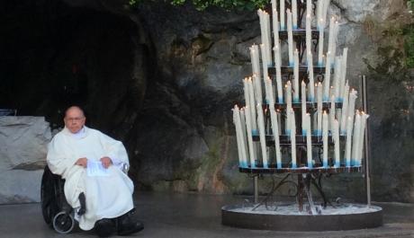 Father Menei Fulfills Role as Spiritual Director