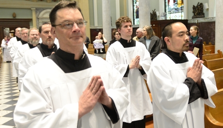St. Michael's Guard Offers Men Opportunity to Serve at Mass