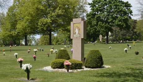 Mass Marks All Saints Cemetery's Golden Jubilee