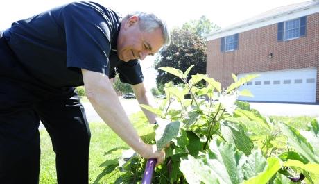 Bishop Gainer Connects Gardening, Cooking to Sabbath