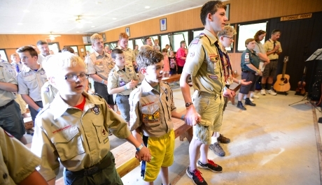 Boy Scouts Explore Richness of Their Faith