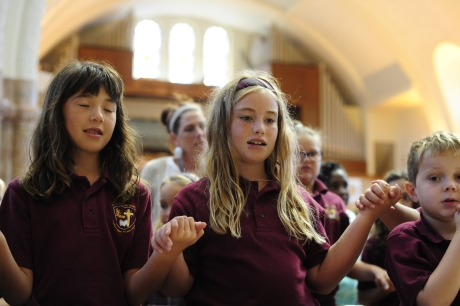 Students Celebrate St. Elizabeth Ann Seton on 40th Anniversary of Canonization