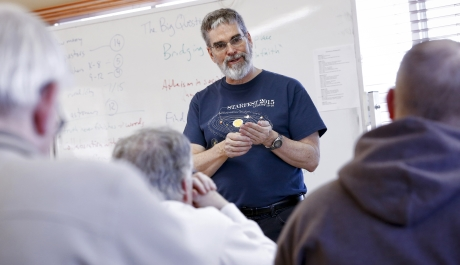 Heavenly Mysteries:  Questions of Faith, Science Intersect at Astronomy Workshop