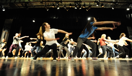 Master Class at Trinity H.S. Educates on Musical Theater