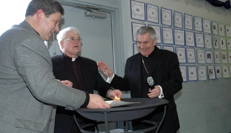 St. Joseph Parish, Milton Displays Faith with Mortgage Burning