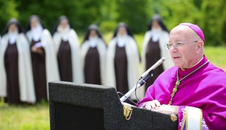 Carmelites Break Ground for New Monastery In Fairfield