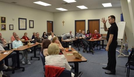 Deaf Catholics Have Retreat