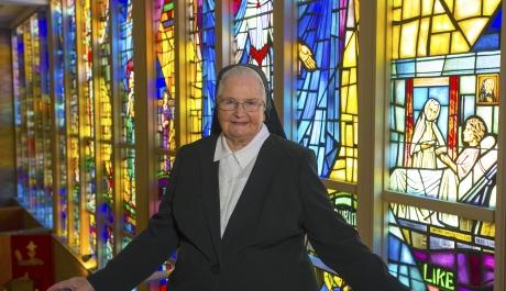 Sister Romaine Niemeyer Retires from Holy Spirit Health System