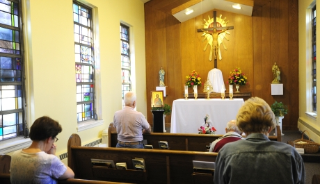 Twenty Years of Adoration at Dauphin Deanery Chapel