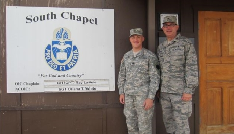 Diocesan Priests Serving as Military Chaplains Find Privileged Moments in Prayer with Soldiers