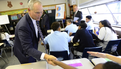 Speaker of the House Visits Harrisburg Catholic, Call for Scholarship Tax Credit Increase