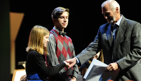 St. Rose of Lima Student Celebrates First Place in Symphony's Composition Contest