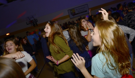 Teens 'Fan the Fire' of the Holy Spirit at Annual Retreat