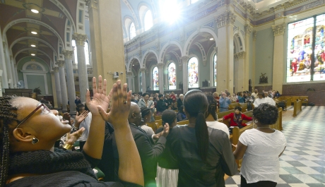 Mass Celebrates African-American Faith, Legacy of Dr. King