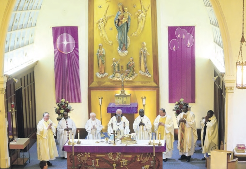 Lykens Parish Celebrates Father Opoki's 25th Anniversary