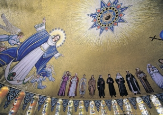 Trinity Dome Mosaic Dedicated