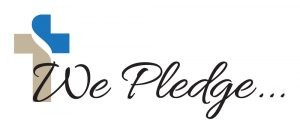 We Pledge . .