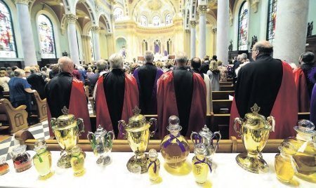 Chrism Mass Serves as Sign of 'New Beginnings' for the