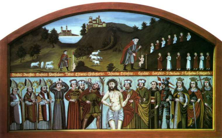 The Fourteen Holy Helpers: Plague Saints for a Time of Coronavirus